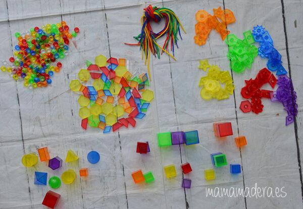 Kit de 498 piezas translúcidas 1