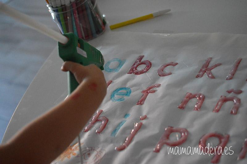 DIY Alfabeto para la caja de luz 16