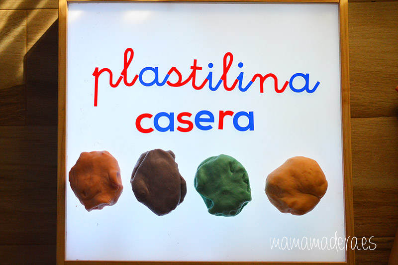 Plastilina casera comestible 28