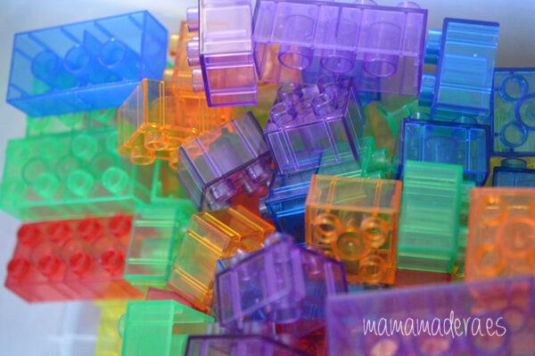 Bloques translúcidos de construcción tipo lego 6