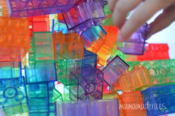 Bloques translúcidos de construcción tipo lego 2