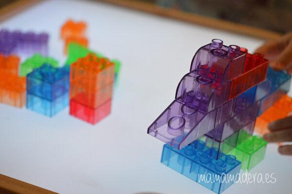 Bloques translúcidos de construcción tipo lego 4