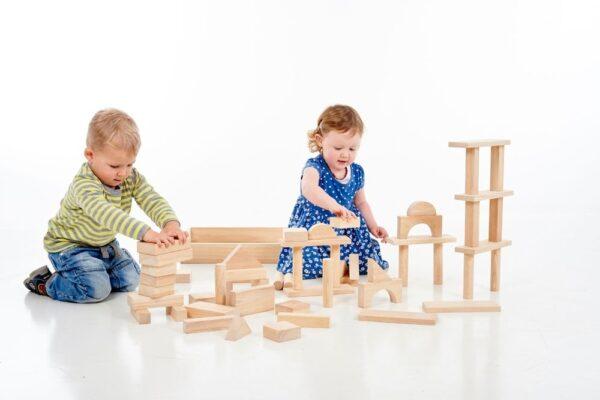 54 bloques gigantes de madera maciza 6