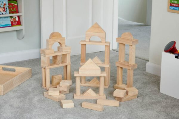 54 bloques gigantes de madera maciza 7