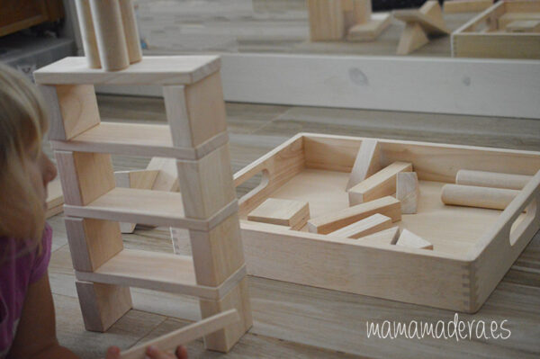 54 bloques gigantes de madera maciza 5
