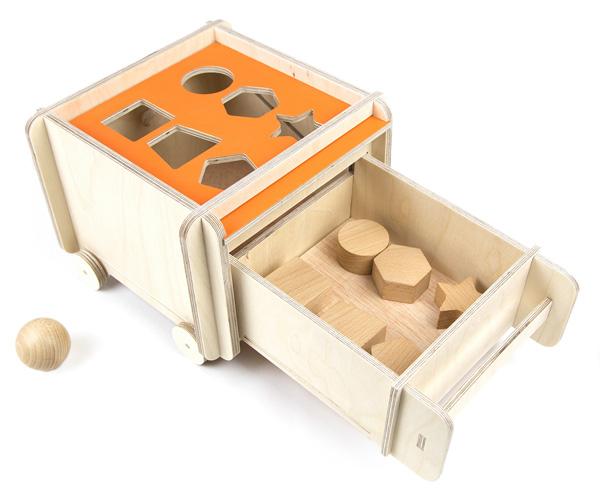 Caja de permanencia evolutiva madera 3
