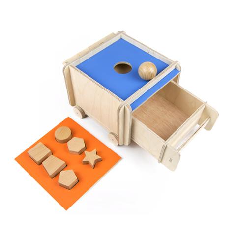 Caja de permanencia evolutiva madera 1