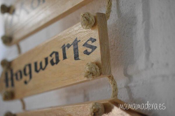Cartel madera personalizado Mural 3