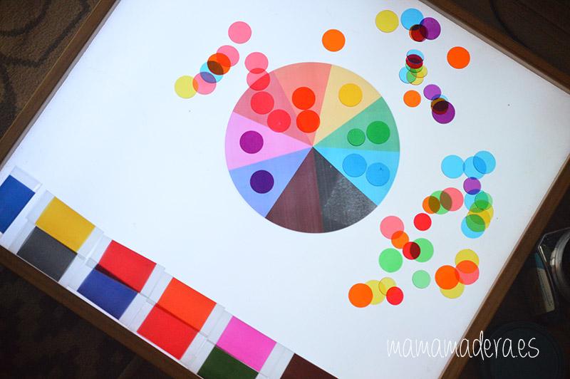 Descargable caja de color montessori 27