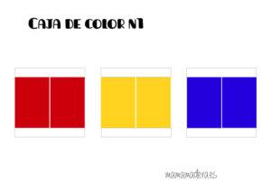 Descargable caja de color montessori 32