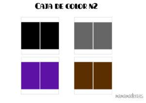 Descargable caja de color montessori 33