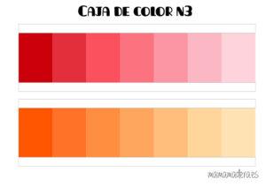 Descargable caja de color montessori 34