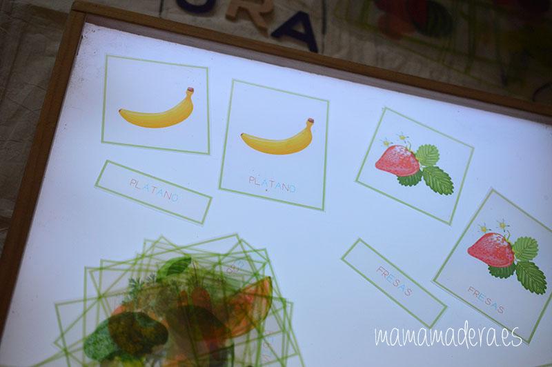 Nuevo descargable gratuito de frutas y verduras de VERANO 18
