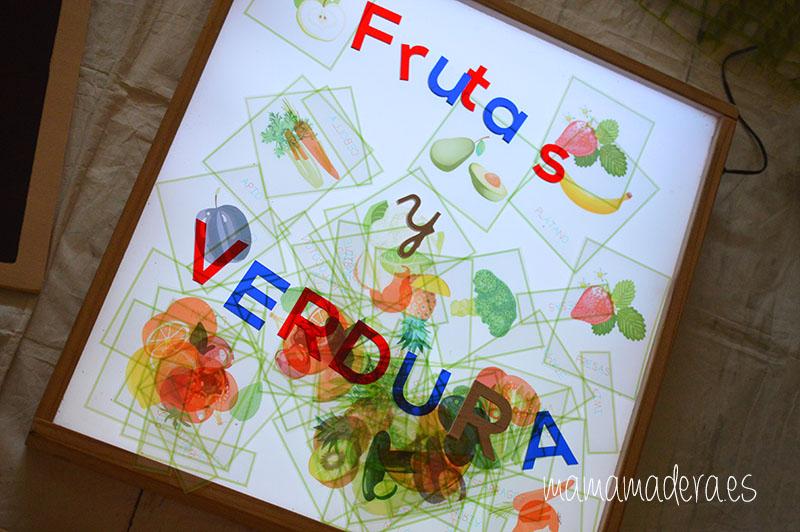 Nuevo descargable gratuito de frutas y verduras de VERANO 17