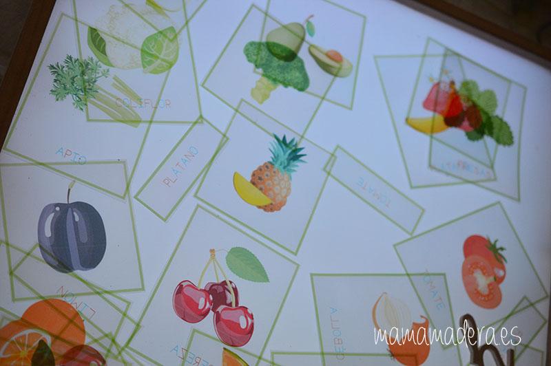 Nuevo descargable gratuito de frutas y verduras de VERANO 16