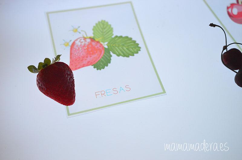 Nuevo descargable gratuito de frutas y verduras de VERANO 21