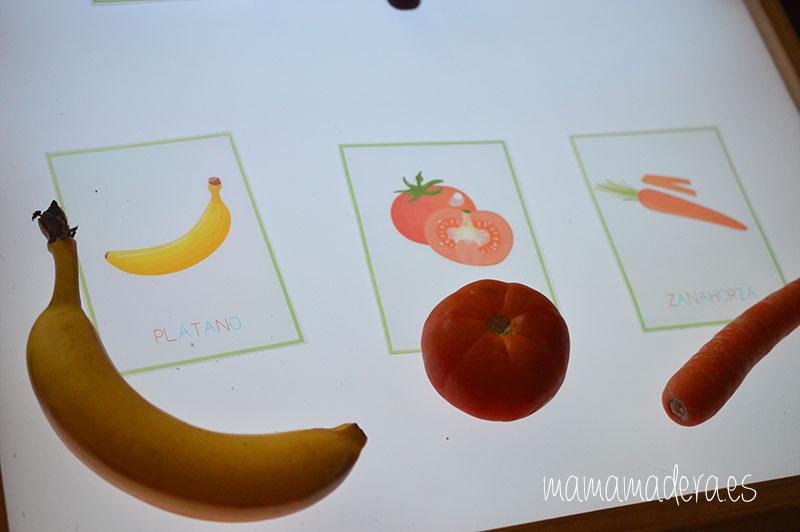 Nuevo descargable gratuito de frutas y verduras de VERANO 22