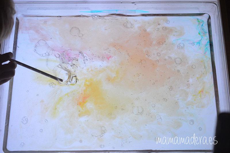 Jabón, agua y la magia de la caja de luz 3
