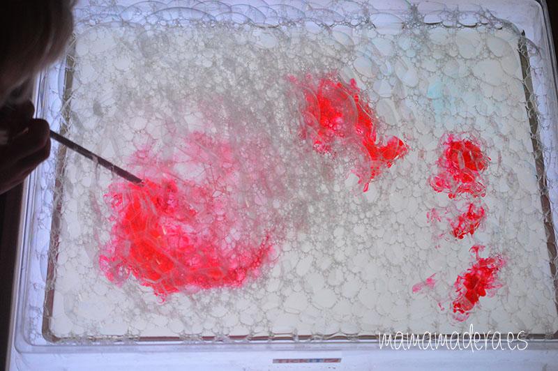 Jabón, agua y la magia de la caja de luz 4